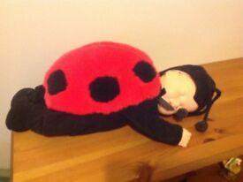 Ladybird soft toy