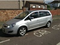 Vauxhall Zafira 1.9 CDTI Exclusive 2010 Diesel Automatic PCO registered for sale £3,500