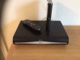 Sky HD Box with remote and Sky broadband router