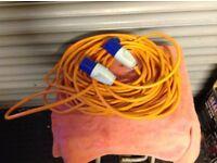 Caravan hook up cable