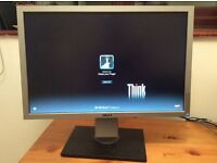 "Dell 22"" monitor screen with cables - good condition"