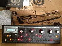 Moog Slim Phatty analogue synth, boxed with paperwork