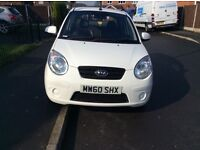 KIA PICANTO 1.0 5DR hatchback patrol manual 2011 full history 12 months mot miles 75000