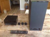 Sony DVD, CD surround sound system.