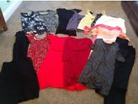 Maternity bundle size 10 used