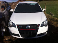 VOLKSWAGEN POLO 1.8 GTI TURBO 2008 FOR PARTS!
