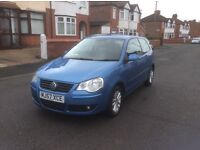2007 Volkswagen polo 1.2 S 3dr hatchback petrol manual 1 owner low mileage full service history£1550