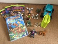 Scooby doo bundle and other boys toys