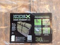 Brand New!!! Kodex Chair and Accessory Bag.