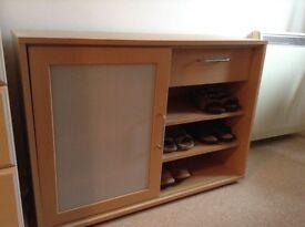 Shoe cupboard storage unit