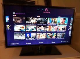 Samsung 3D LED Smart Tv Wifi Control Voice