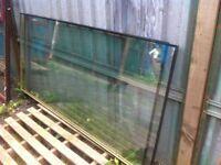 Large Pilkington glass double glazed window pane