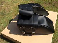 Genuine Triumph Leather Panniers - A9510037
