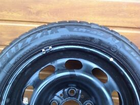 Winter tyres, wheels and trims for BMW 1 series