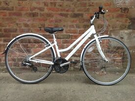 Ridgeback speed small ladies hybrid bike