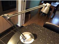 Adjustable angle poise lamp