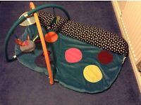 Mamas and Papas baby sensory gym mat