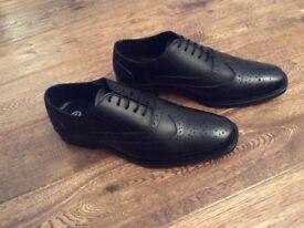 Men's leather brogue shoes 8 (42)