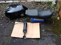 Honda motorcycle parts petrol tank.seat .monoshock .possible CB 750 .VF 750 .collection only