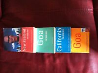 The Rough Guide Travel Books X 4. All for £10 or £3ea