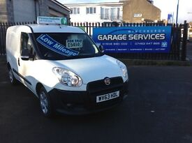FIAT DOBLO LOW MILES STUNNING CONDITION FINANCE AVAILABLE FULL YEARS MOT SPARE LINED FULLY SERVICE