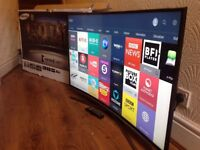 SAMSUNG 48-inch CURVED LED TV,SUPER Smart 4K HDR UHD ,built in Wifi,Freeview HD,GREAT Condition