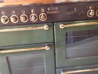 Range Electric 1100 cooker with double oven all working see photos