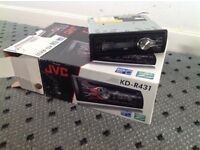 JVC Radio/CD player
