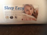 King size memory foam mattress,£65.00