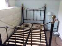 Metal bed frame small double (4ft)