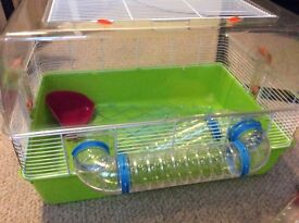 Hamster cage Syrian and accessories