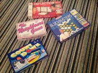Four games all in good condition Countdown The Neighbours Game Blockbusters and Deflection.