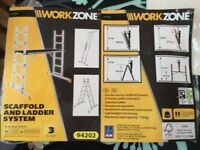 Scaffold and ladder - WorkZone