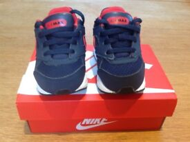 Boys Nike Air Max Trainers - Infant Size 4