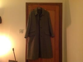 Wool coat Johnstons of Elgin