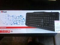 Keyboard, Brand New, Unused, boxed Trust ClassicLine