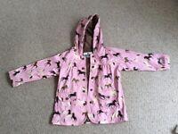 Girls Hatley raincoat age 3