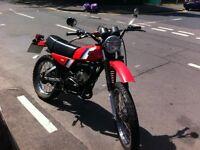 yamaha dt 175mx 1984 classic 2-stroke