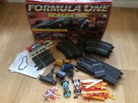 Hornby Scalextric Formula One Set.