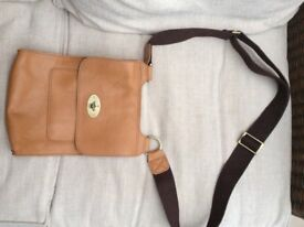 Mulberry leather bag tan