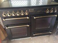 Black leisure cooker range 110