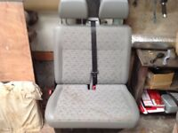 VW Transporter double front seats