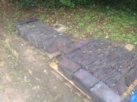 Reclaimed Staffordshire Blue Clay Roof Tiles