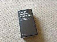 Cards Against Humanity game - brand new and still sealed