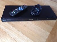 Panasonic DMP-BD75 blu ray player in excellent condition