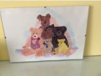 Limited edition print of 5 ' A Family Portrait of Bears'by Bear Necessities