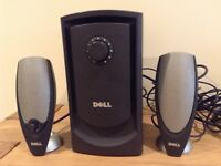 DELL 2.1 multimedia speaker system - £39 ono - fantastic sound quality!