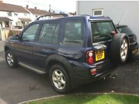 Freelander td4 XS 53 plate facelift model MOT June 2017