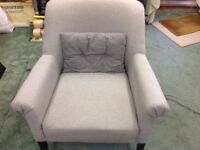 £50 ONO FOR AS NEW (COST OVER £200 NEW) A LOVELY DAVID PHIPPS TUB CHAIR/OCCASIONAL CHAIR