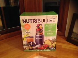 NUTRIBULLET 8 piece set BRAND NEW